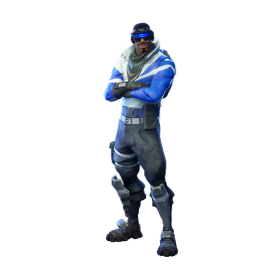 Fortnite Blue Striker