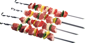 Four Meat Skewer