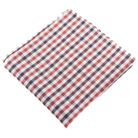 Gingham revolution handkerchief