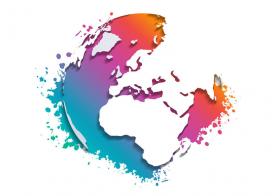 Colourful Globe