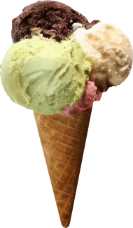 Horn Three Tastes Ice Cream