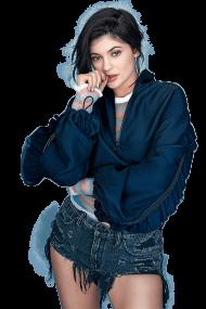 Kylie Jenner Blue Shirt