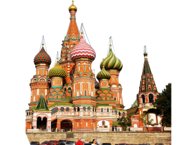 St. Basil's Cathederal – Russia