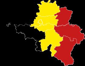 Map of Belgium – Flag of Belgium