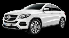 Mercedes Benz GLE Coupe White Car