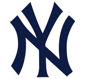 New York Yankees Logo Blue