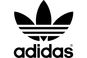 Old Black Adidas Logo