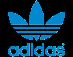 Old blue flower adidas Logo