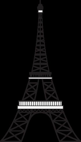 Artist Impression of Eiffel Tower – Paris