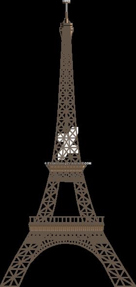 Two Dimensional Eiffel Tower – Paris