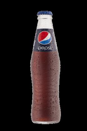 Pepsi Bottle Wet