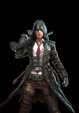 Playerunknown's Battlegrounds female sniper(pubg)