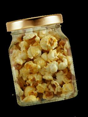 Popcorn in Jar