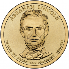 Abraham Linkcoln Gold Coin