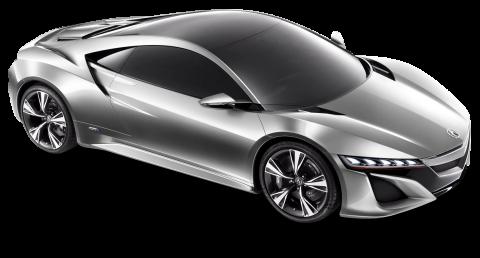 Acura NSX Silver Car