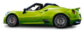 Alfa Romeo 4C Lime Car