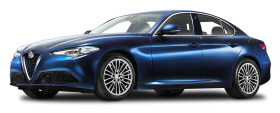 Alfa Romeo Giulia Blue Car