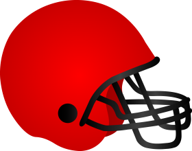 American Football Helm Clipart