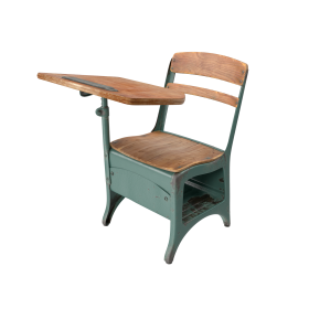 Antique School Desk