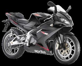 Aprilia Black Motorcycle