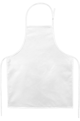 Apron Simple White