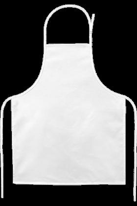 Apron Simple White