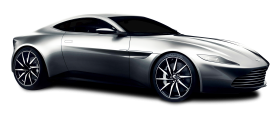 Aston Martin DB10 Silver Car