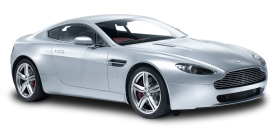 Aston Martin V8 Vantage White Car