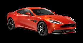 Aston Martin Vanquish Red Car