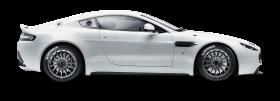 Aston Martin Vantage GT4 White Car