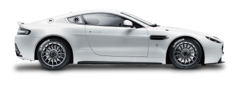 Aston Martin Vantage GT4 White