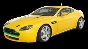 Aston Martin Vantage N24 Yellow Car