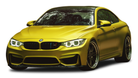 Austin Yellow BMW M4 Car
