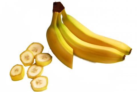 Bananas Cut