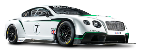 Bentley Continental GT3 R Racing Car