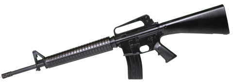 Black Assault Rifle