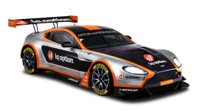 Black Aston Martin Racing Car