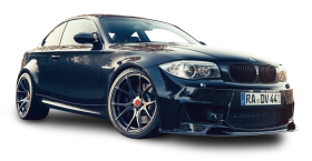 Black BMW 1M V FF Car