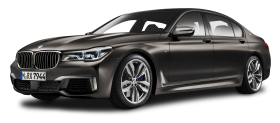 Black BMW M760Li xDrive Car