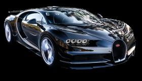 Black Bugatti Chiron Car