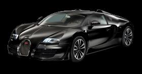 Black Bugatti Veyron Grand Sport Vitesse Car