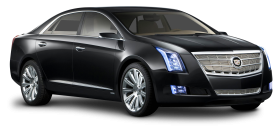 Black Cadillac XTS Platinum Car