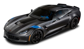 Black Chevrolet Corvette Grand Sport Car