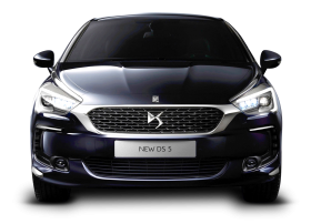 Black Citroen DS5 Car Front