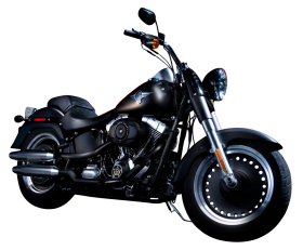 Black Color Harley Davidson