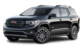 Black GMC Acadia All Terrain Car