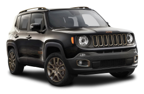 Black Jeep Renegade Car