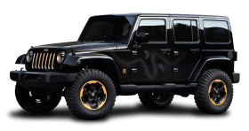 Black Jeep Wrangler Dragon Edition Car