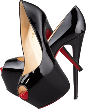 Black Louboutin Lady's  Pumps