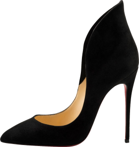 Black Louboutin Women's